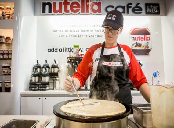 Ouverture d'un nutella Café à Chicago