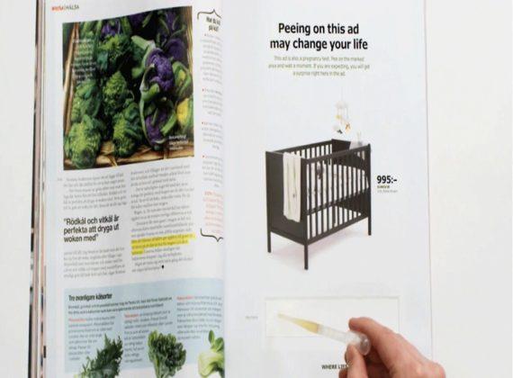 Grâce à Ikea, sachez si vous êtes enceinte !