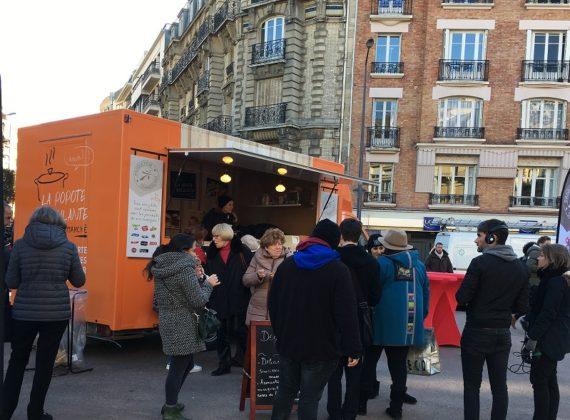 Un Road Show avec food truck pour Intermarché Express