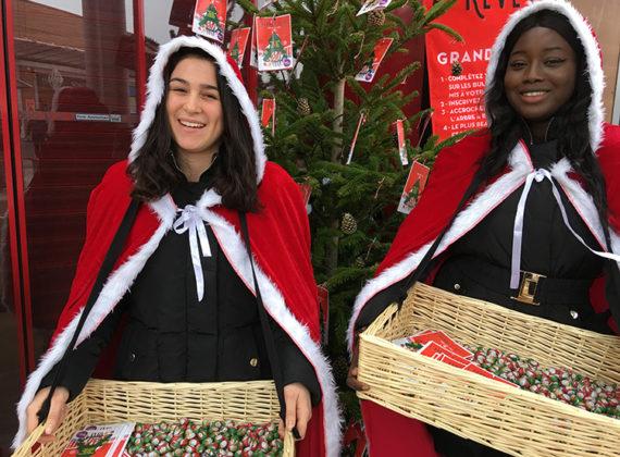 Création de la maison du Père Noël <br> à Thiais Village