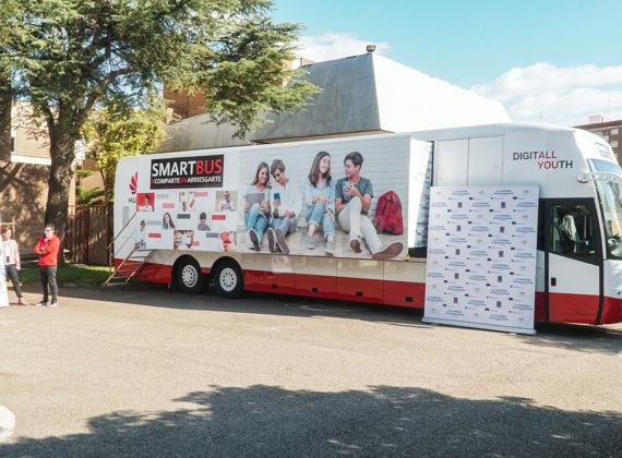 """Smartbus HUAWEI """"partager sans risquer"""""""