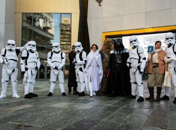 ANIMATIONS STAR WARS PLACE DU GRAND OUEST